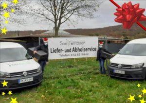 Lieferservice und Abholservice See Terrassen Schieder See Weihnachtsspecial